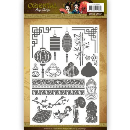 ADCS10040 ~ Oriental ~ Clear Stamp ~ Amy Design